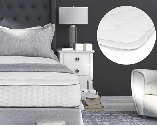 Sleeptime 3D Air Hotel Matrastopper - Lits-jumeaux - 160x200 - Wit