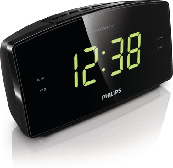 Philips AJ3400 - Wekkerradio - Zwart