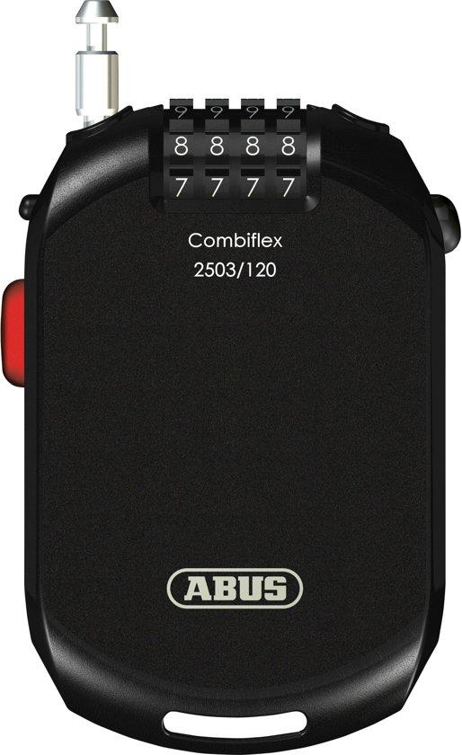 ABUS Combiflex Kabelslot - 2503/120 C/SB - Zwart