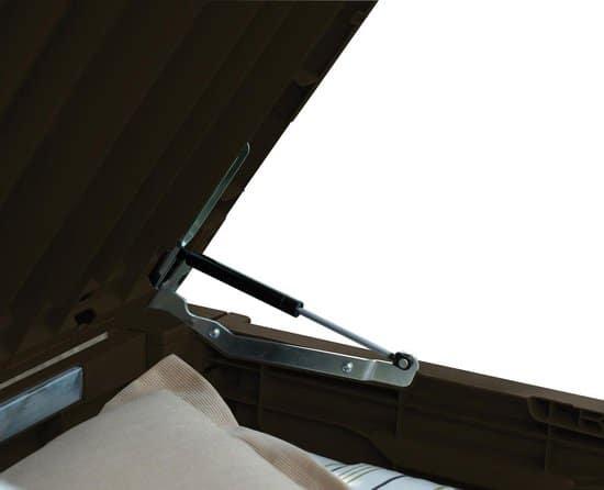 Keter Brushwood Opbergbox  - Grafiet  - 454L  - 145x69,7x60,3cm
