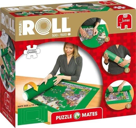 Jumbo Puzzle & Roll  Puzzelmat Puzzelrol 500 tot 1500 Stukjes