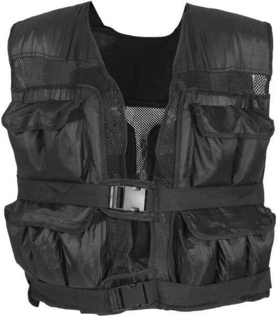 Gorilla Sports Gewichtsvest - Weight Vest - Verstelbaar in gewicht - 30 kg