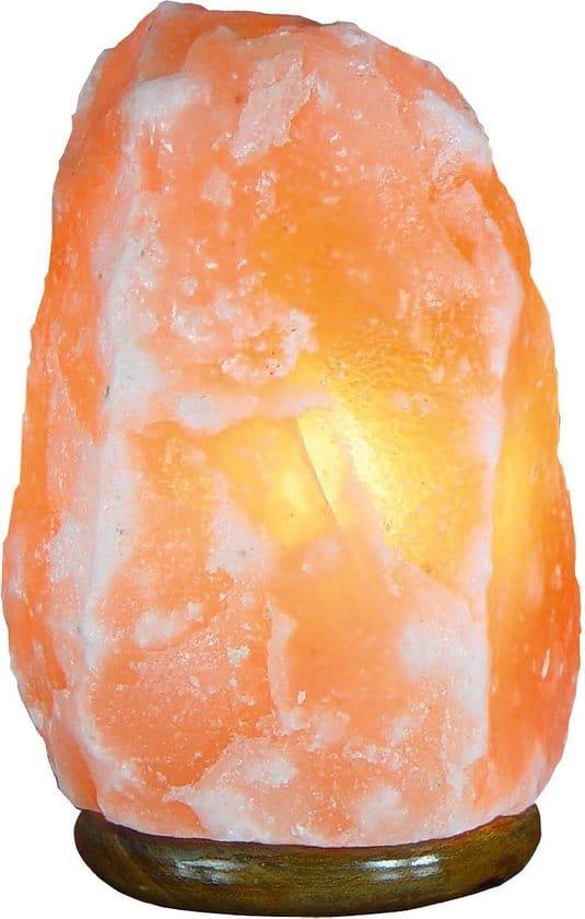 Himalaya Zoutlamp Natural 2-3kg - inclusief snoer, schakelaar en lampje