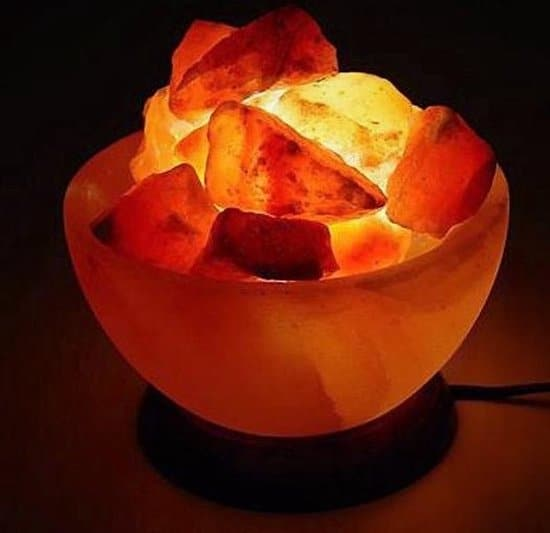 Himalaya zoutlamp - Fireball zoutkristal lamp