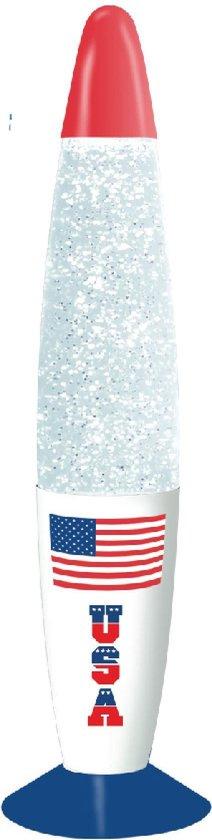Kreative Glitter Lamp Usa Sfeerlamp