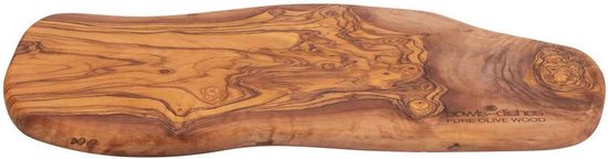 Pure Olive Wood Borrelplank 40 t/m 45 cm olijfhout