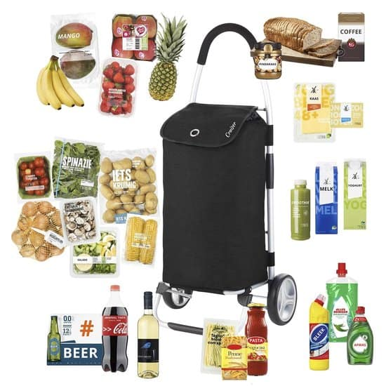 ShoppingCruiser® 'Foldable' Boodschappentrolley | Opvouwbare boodschappenwagen |Afneembare boodschappentas | Waterafstotend | Zwart