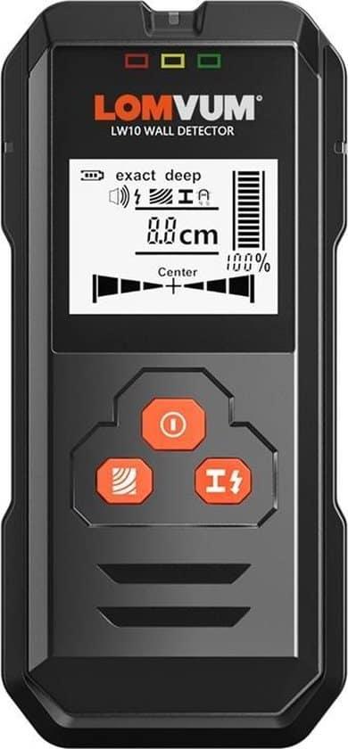 5 in 1 Leidingdetector - Kabeldetector- Detecteert tot 120mm