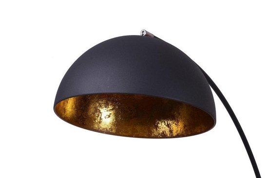 Avignon Industrieel Design - Booglamp Vloerlamp - Ø 45 - Goud Zwart