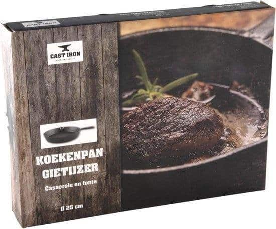 Imperial Kitchen Koekenpan - 25 cm - Gietijzer
