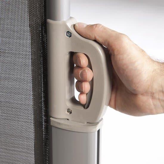 Windscherm - 180x300 - Antraciet/Grijs- Doorzichtig - Oprolbaar - Aluminium - Privacy