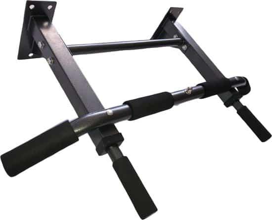 LJ SPORTS® Pull Up Bar | Optrekstang Wandmontage | Optrekstang Fitness | Inclusief extra bevestigingspunt | Tot 200KG