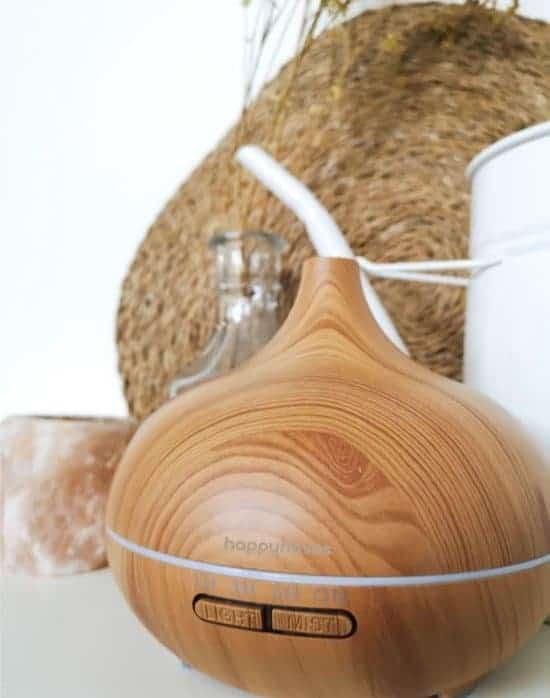 Aroma Diffuser Arizona© in hout voor aromatherapie