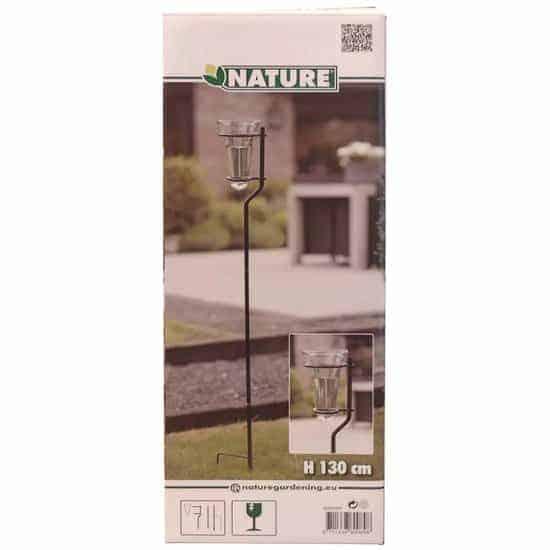 Nature Regenmeter met standaard glas 130 cm 6080089